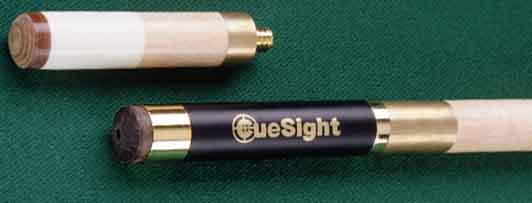 CueSight Laser Pool Cue - Two Tips